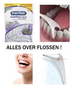 tanden flossen